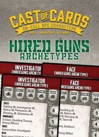 Cast of Cards: Hired Guns Archetypes (Modern)