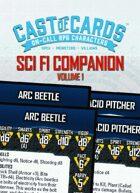 Cast of Cards: Science Fiction Companion, Vol. 1