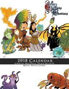 Baby Bestiary 2018 Calendar