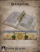 Temple of Terror Bookmark