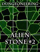 *Dungeoneering Presents* Alien Stone Map Pieces (Green)