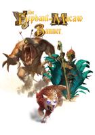 Creatures of Fantasy Brazil token set (Elephant & Macaw Banner)