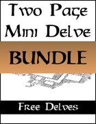 Two Page Mini Delves - FREE [BUNDLE]