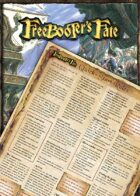 Freebooter's Fate Quickstart Rules English Version