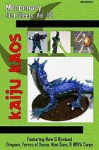 Kaiju Kaos - Mercenary Stat Sheets, Vol. 02