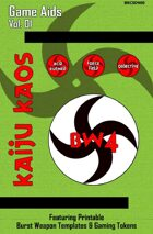 Kaiju Kaos - Game Aids, Vol. 01