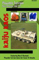 Kaiju Kaos - Playable Terrain Stat Sheets, Vol. 02
