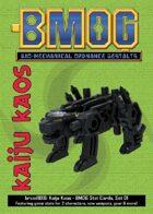 Kaiju Kaos: BMOG Stat Cards, Set 01 (black)