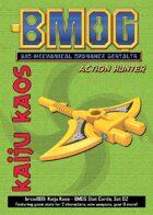 Kaiju Kaos: BMOG Stat Cards, Set 02 (Action Hunter)