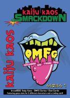 Kaiju Kaos: OMFG Series 1 Stat Cards