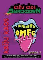 Kaiju Kaos: OMFG Series 2 Stat Cards