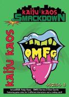 Kaiju Kaos: OMFG Series 3 Stat Cards