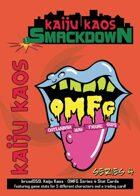 Kaiju Kaos: OMFG Series 4 Stat Cards