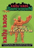 Kaiju Kaos: Rise of the Beasts Stat Cards, Set 01