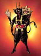 Kaiju Kaos: Collectible Trading Card #14 - Krampus