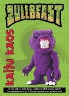 Kaiju Kaos: Zullbeast Stat Cards, Set 01