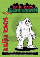 Kaiju Kaos: Minerva Monster Stat Card
