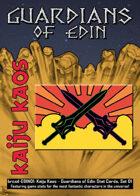Kaiju Kaos: Guardians of Edin Stat Cards, Set 01