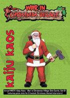 Kaiju Kaos: War in Christmas Village Stat Cards, Set 01