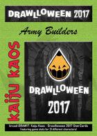Kaiju Kaos: Drawlloween 2017 Stat Cards