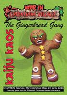 Kaiju Kaos: War in Christmas Village Stat Cards, Set 05
