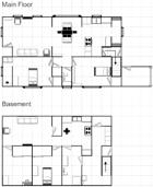 Alterkine Floorplans: Small House