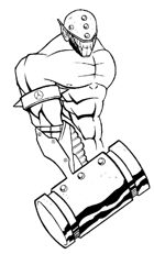 Stock Art: Hammer Fist