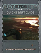 Alternity Science Fiction RPG Demo Pack