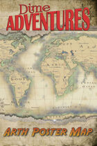 Dime Adventures: Arth Poster Map