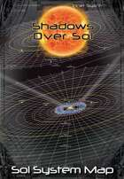 Shadows Over Sol: Sol System Poster Map