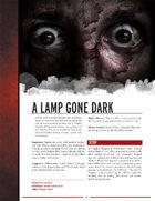 A Lamp Gone Dark