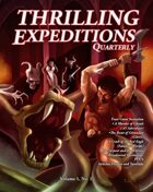Thrilling Expeditions Quarterly Vol. 1 No. 1