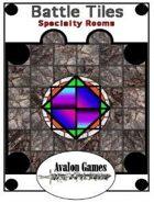 Battle Tiles, Specialty Rooms