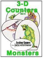 3-D Counters, Set 6