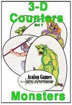 3-D Counters, Set 7