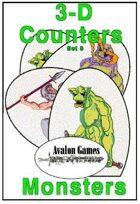3-D Counters, Set 8