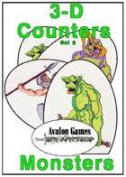 3-D Counters, Set 9