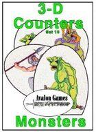 3-D Counters, Set 10