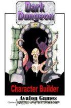 Dark Dungeon #5, Character Builder, Mini-Game #33