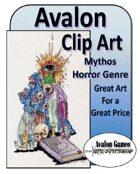 Avalon Clip Art, Mythos Horror