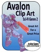 Avalon Clip Art, Sci-Fi 2