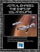 Astral Empires: Ships Of Solar Eliptic