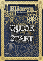Bliaron 2nd Edition - Quick Start Introductory Rulebook