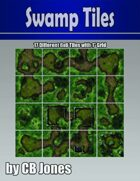 Swamp Tiles 6x6