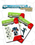 Dreadball Reference Cards: Free Agents