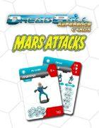 Dreadball Reference Cards: Martian Team