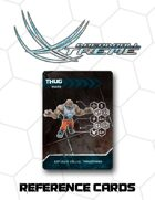 Dreadball Xtreme Reference Cards: Base Game