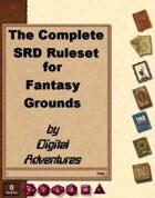 Complet SRD Ruleset for Fantasy Grounds