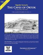 VS1 - The Caves of Ortok - Swords & Wizardry Edition