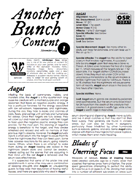 Another Bunch of Content Issue 1 November 2014